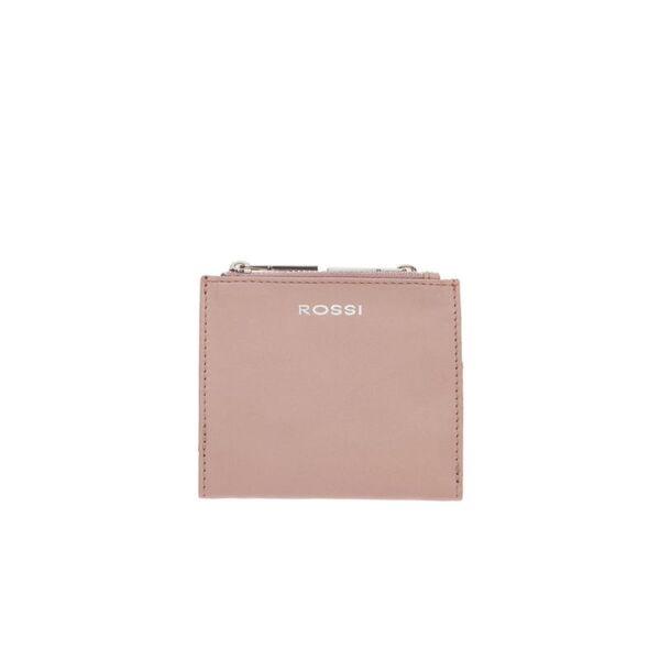 Дамско портмоне ROSSI,перлено розово