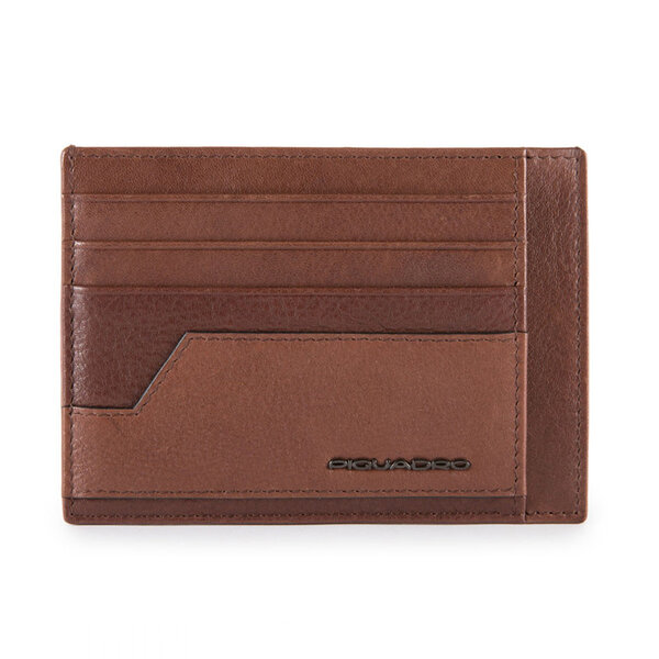 Калъф за кредитни карти Piquadro KOBE, кафяв