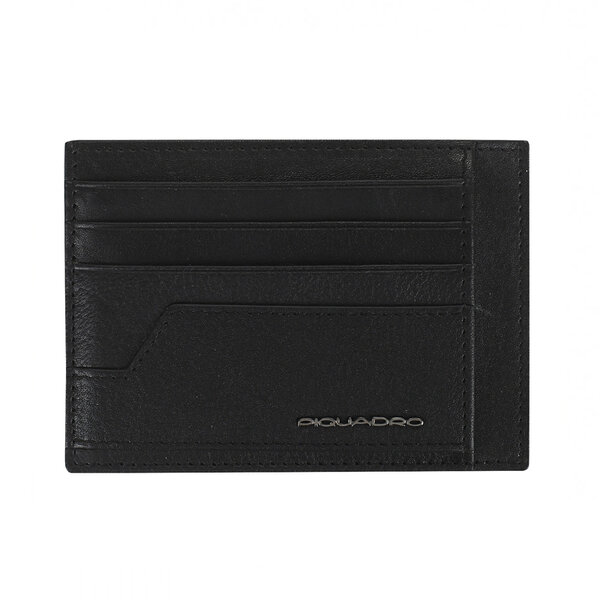 Калъф за кредитни карти Piquadro KOBE, черен