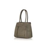 Дамска чанта ROSSI, маслено зелена