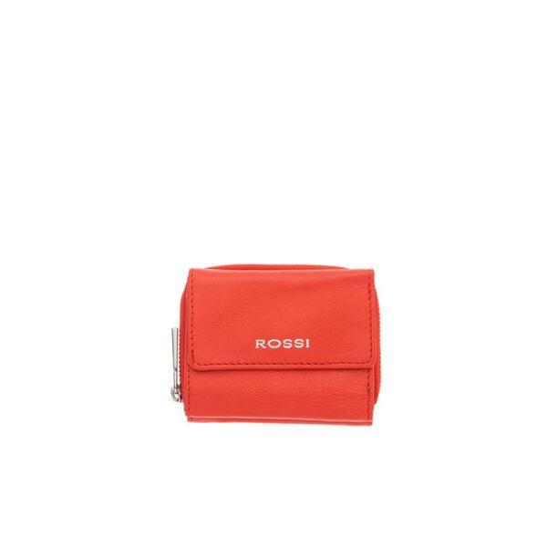 Компактно дамско портмоне ROSSI, червено