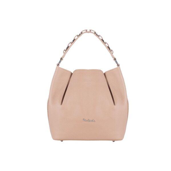 Дамска чанта Pierre Cardin, цвят капучино