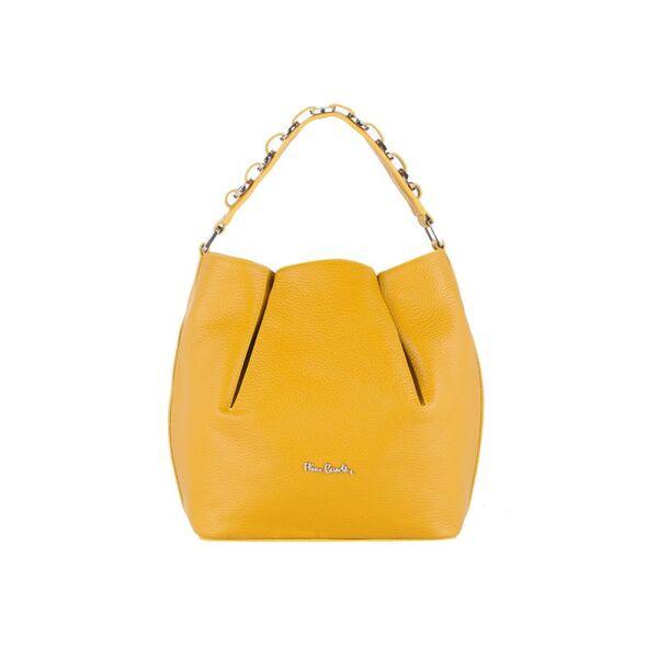 Дамска чанта Pierre Cardin, жълта