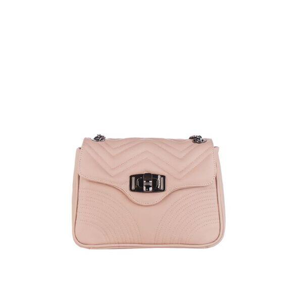 Дамска чанта Pierre Cardin Sauvage, розова