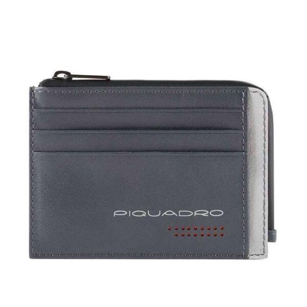 Калъф за документи Piquadro с 6 отделения за кредитни карти