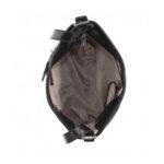 Дамска чанта ROSSI, черен гланц