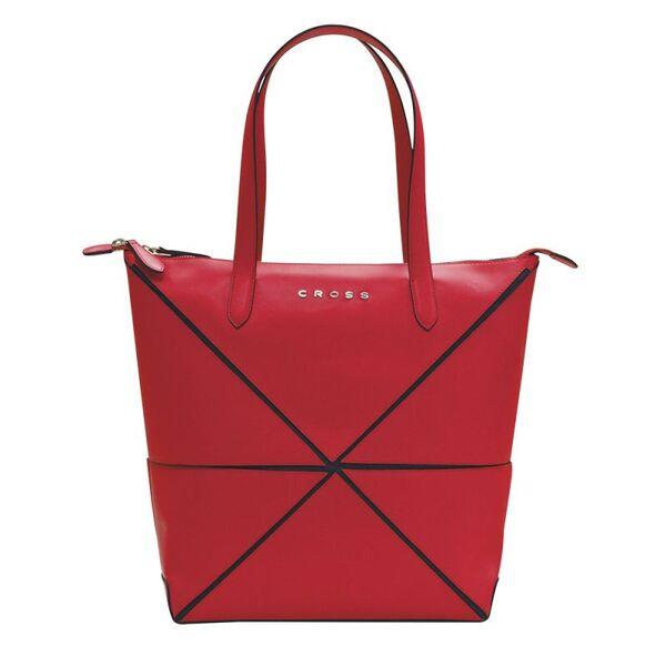 Дамска чанта Cross Origami Collapsible, червена голям размер