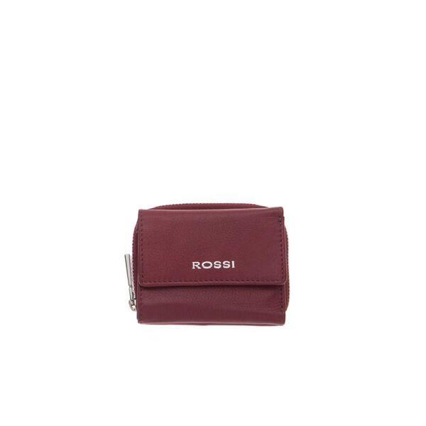 Компактно дамско портмоне ROSSI, бордо