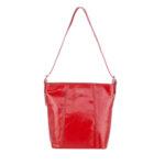 Дамска чанта ROSSI, червен гланц