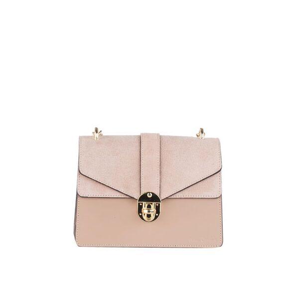 Дамска чанта Pierre Cardin Ruga Comoscio, цвят капучино