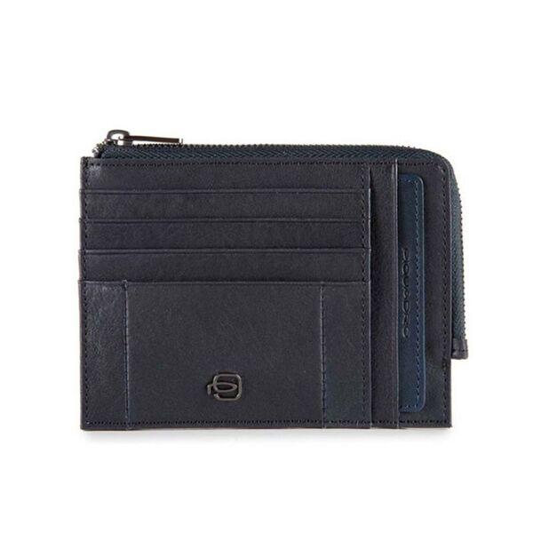 Портфейл Piquadro Brief с отделения за документи, карти, монети и RFID защита