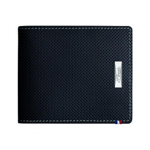 Мъжки портфейл S.T.Dupont с 4 отделения за кредитни карти и монетник, Defi Perforated Collection