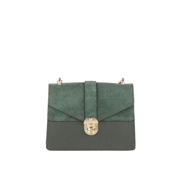 Дамска чанта Pierre Cardin Ruga Comoscio, зелена