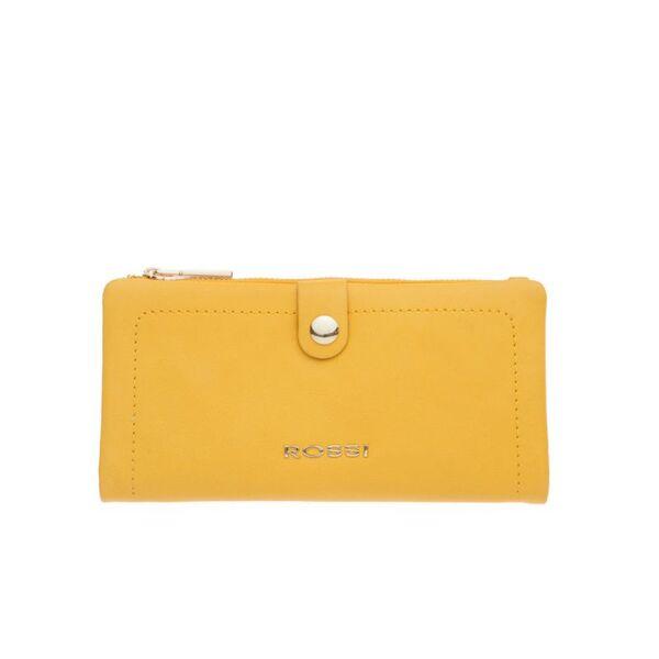 Дамски портфейл ROSSI, жълт