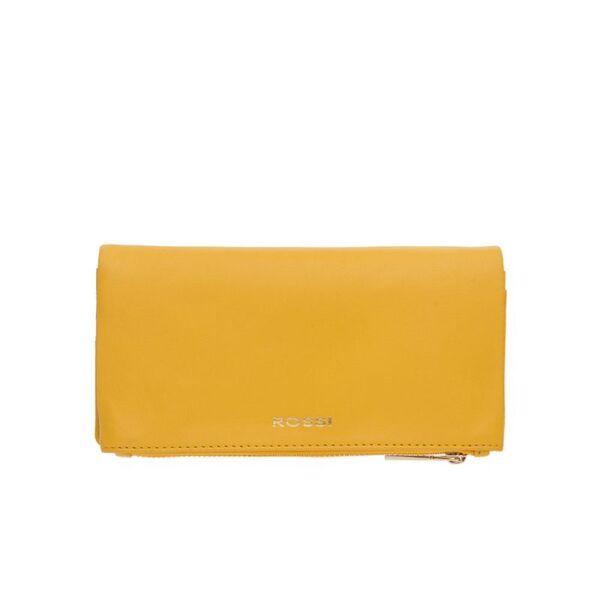 Дамско портмоне ROSSI, жълто