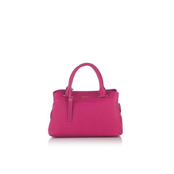 Класическа дамска чанта ROSSI, розова