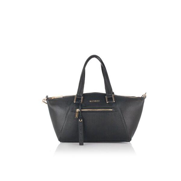 Малка дамска чанта ROSSI, чернa