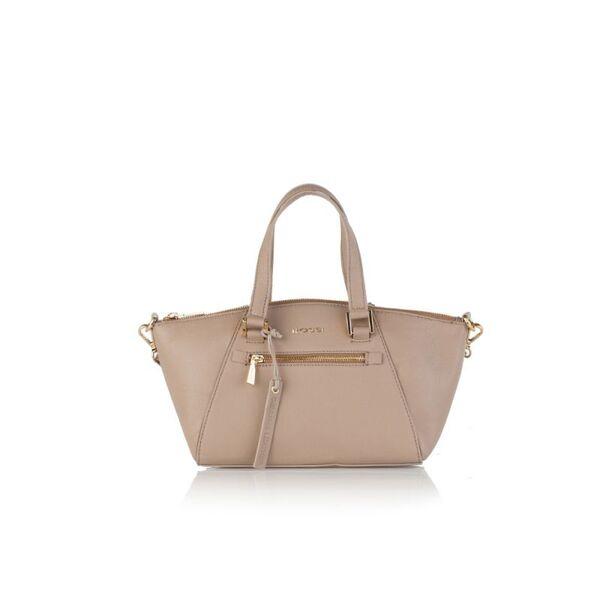 Малка дамска чанта ROSSI, бежовa