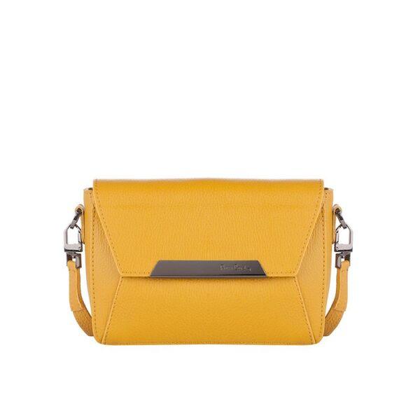 Малка дамска чанта Pierre Cardin Dollaro, жълта