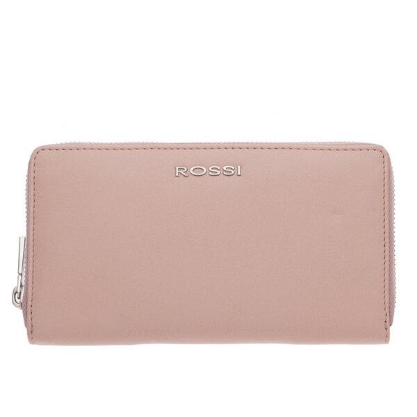 Дамско портмоне ROSSI, розово с цип