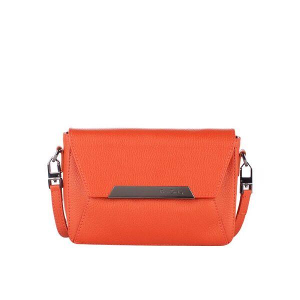 Малка дамска чанта Pierre Cardin Dollaro, оранжева