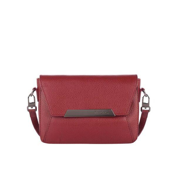 Малка дамска чанта Pierre Cardin Dollaro, бордо