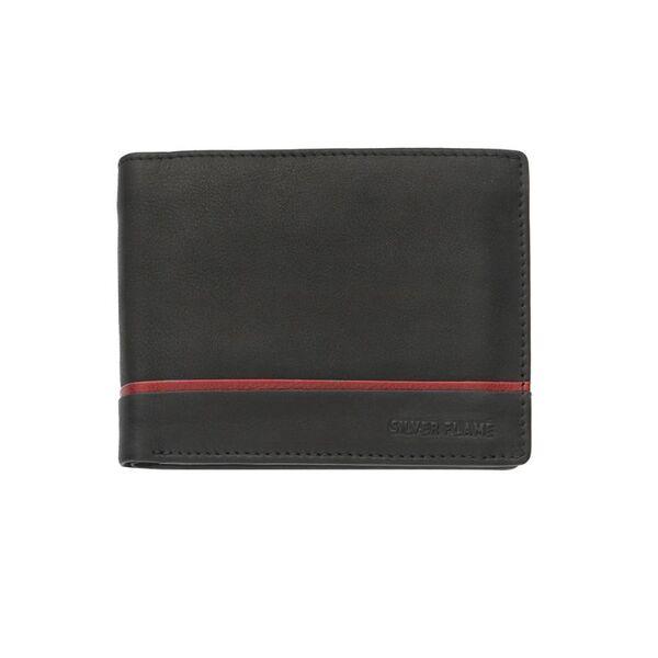 Мъжки портфейл SILVER FLAME, колекция Червена линия