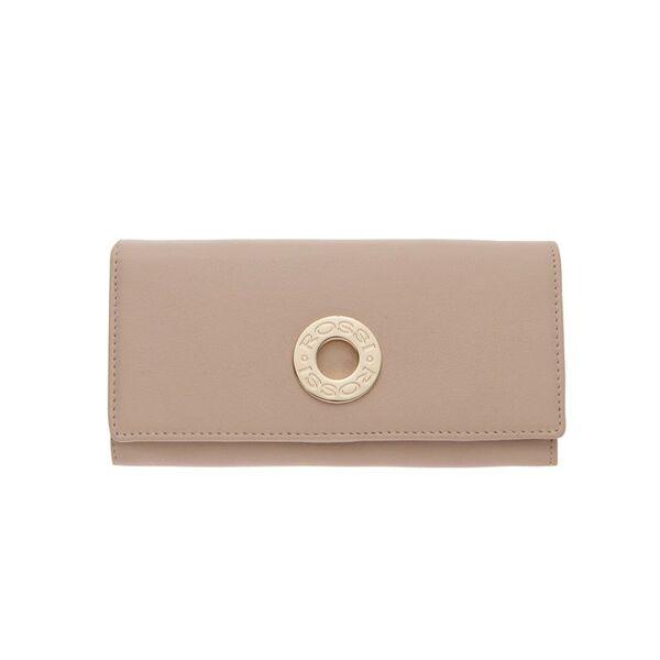 Дамско портмоне ROSSI, цвят бежов