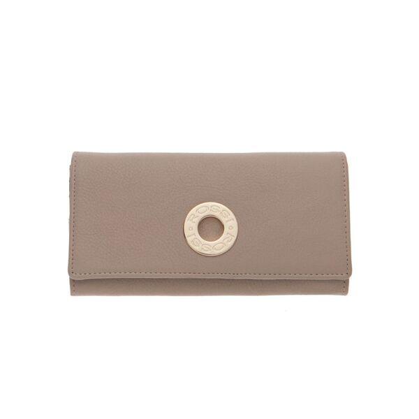 Дамско портмоне ROSSI, цвят капучино