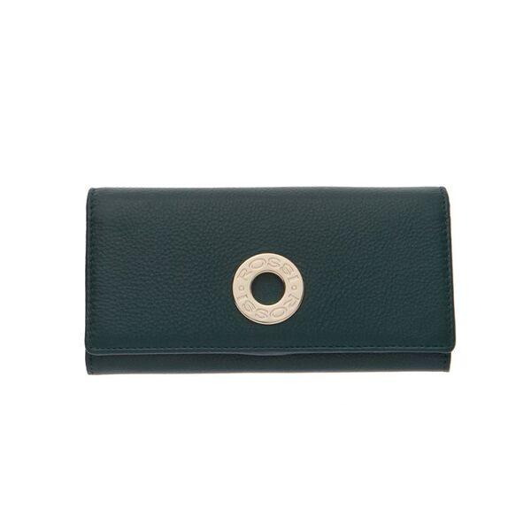 Дамско портмоне ROSSI, тъмнозелено