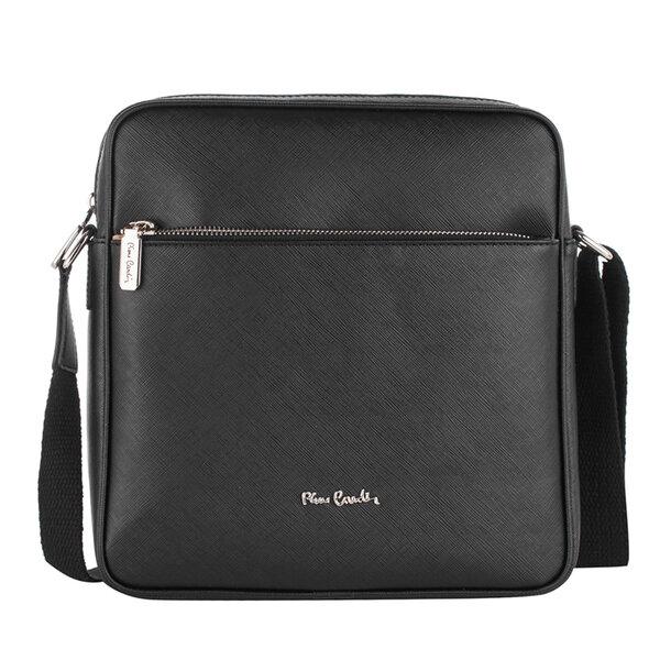 Спортна мъжка чанта Pierre Cardin, черна
