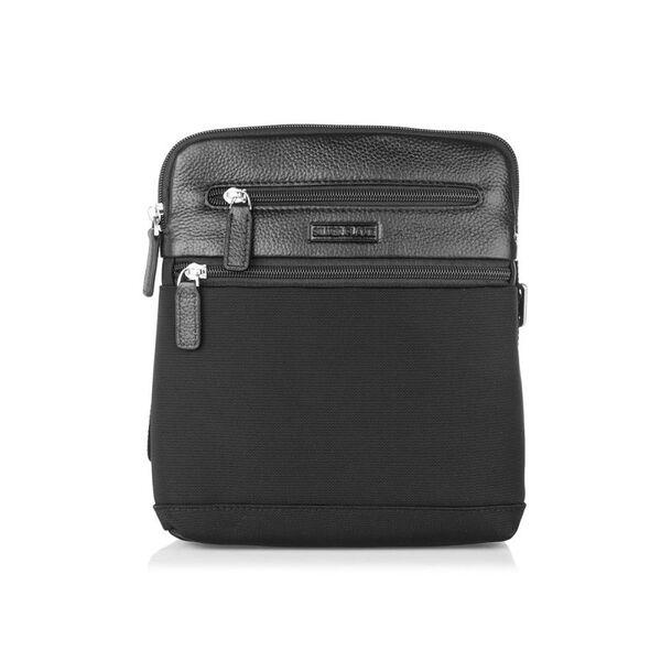 Черна чанта SILVER FLAME, среден размер