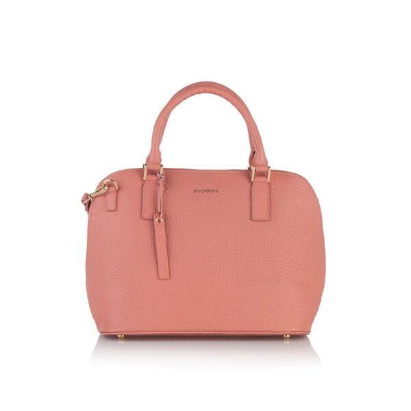 Елегантна дамска чанта ROSSI, розова
