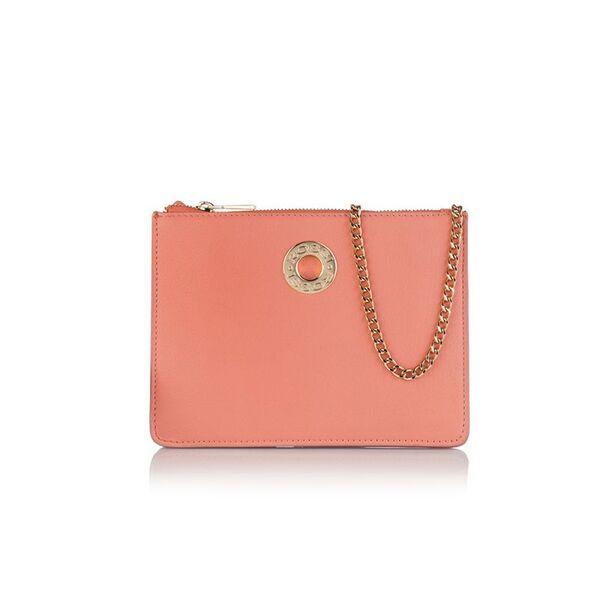 Малка дамска чанта ROSSI, розова