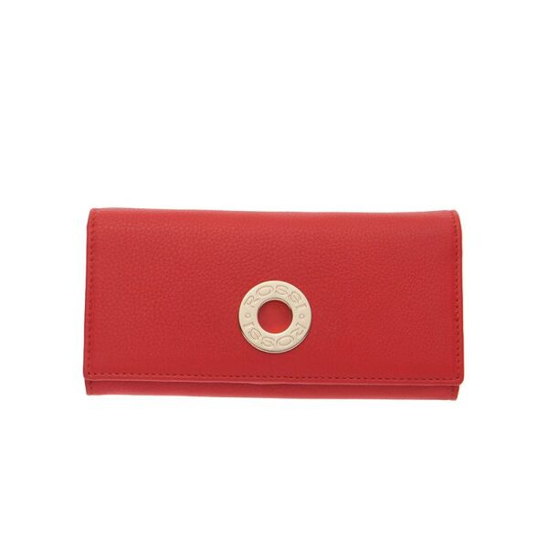 Дамско портмоне ROSSI, цвят ягодово червено