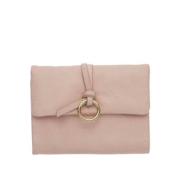 Малко дамско портмоне ROSSI, в светло розово