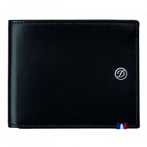 Портфейл S.T. Dupont с 6 отделения за кредитни карти и щипка за пари
