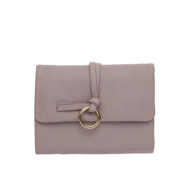 Малко дамско портмоне ROSSI, в лилаво