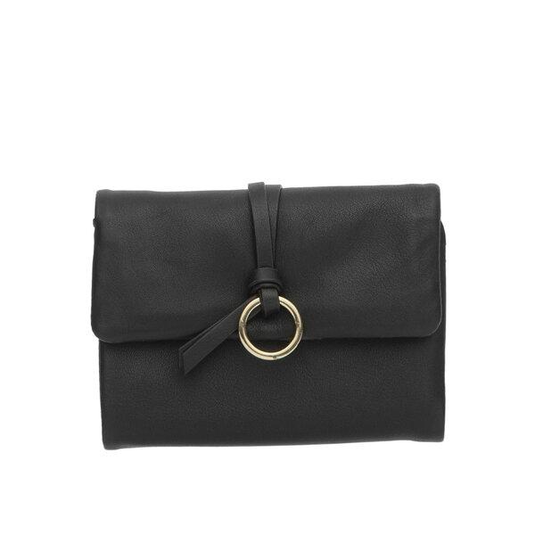 Малко дамско портмоне ROSSI, в черно