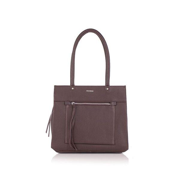 Дамска чанта ROSSI, кафява