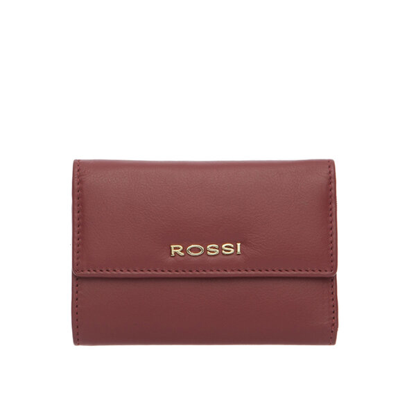 Дамско портмоне ROSSI във винено червено