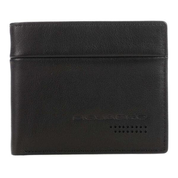 Тънък мъжки портфейл Piquadro Urban с 5 отделения за карти и RFID защита