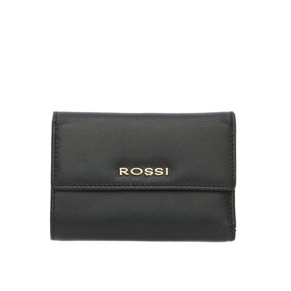 Дамскo портмоне ROSSI  черно