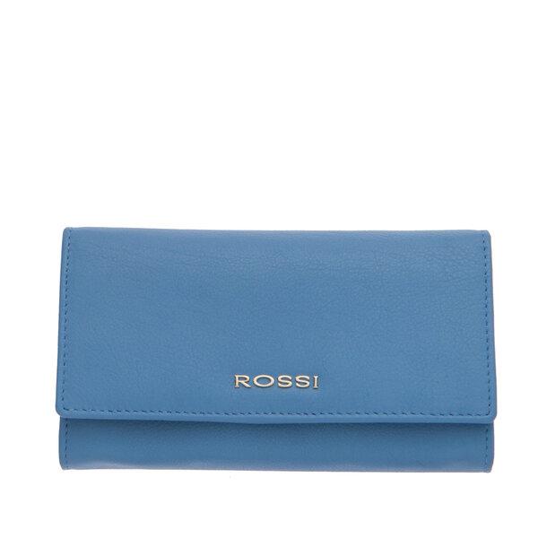 Дамско портмоне ROSSI, цвят небесно синьо