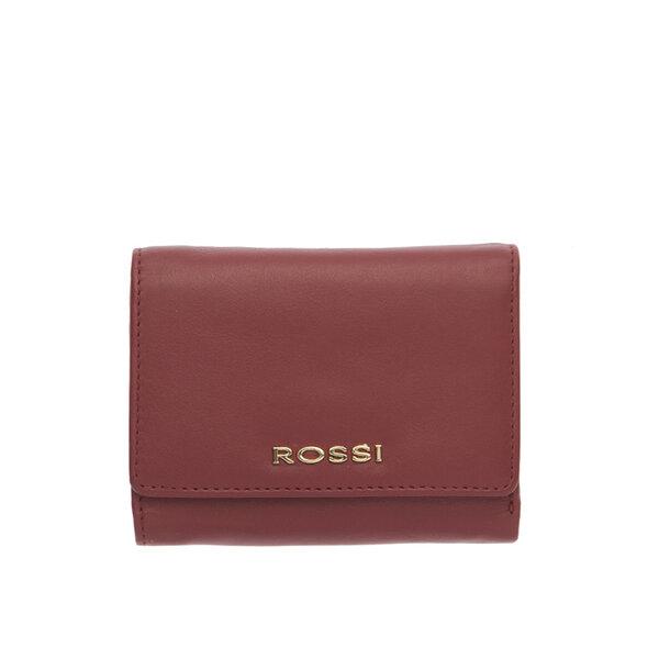 Винено червено дамско портмоне ROSSI