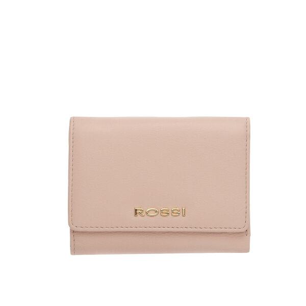 Свeтло розово дамско портмоне ROSSI