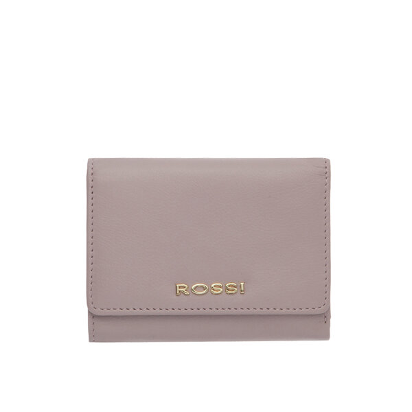 Лилаво дамско портмоне ROSSI, с монетник
