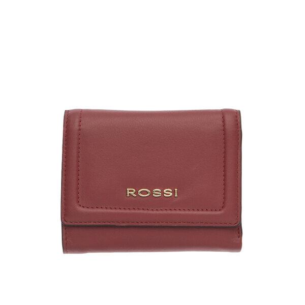 Дамско портмоне ROSSI цвят винено червено