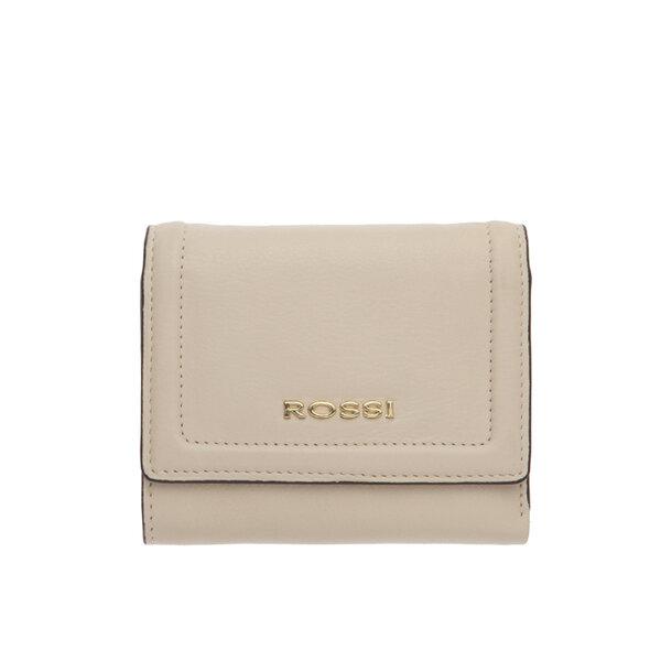 Дамско портмоне ROSSI цвят слонова кост