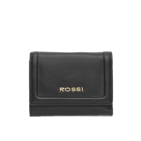 Дамско портмоне ROSSI, черно